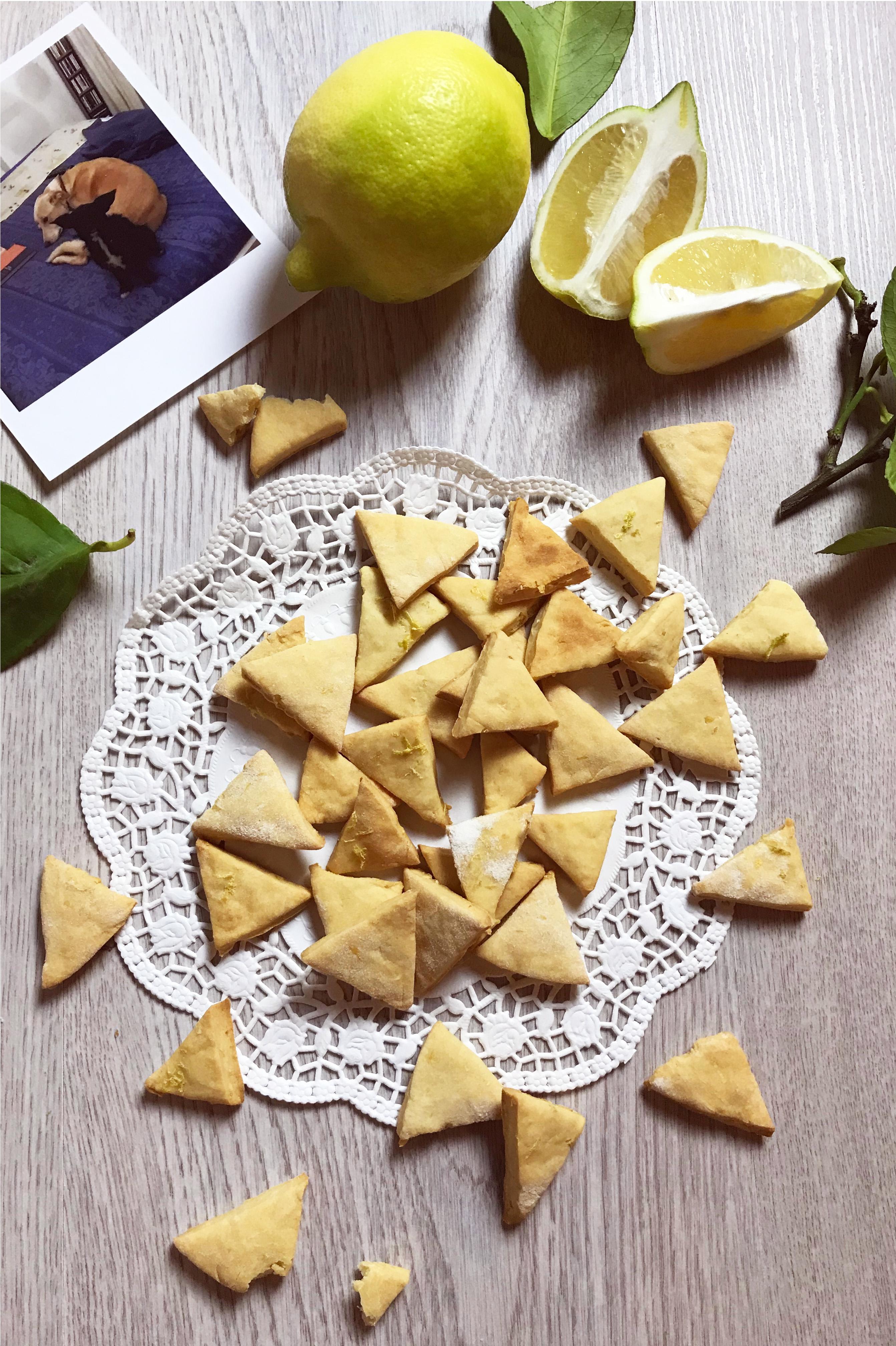 Biscotti ricotta e limone