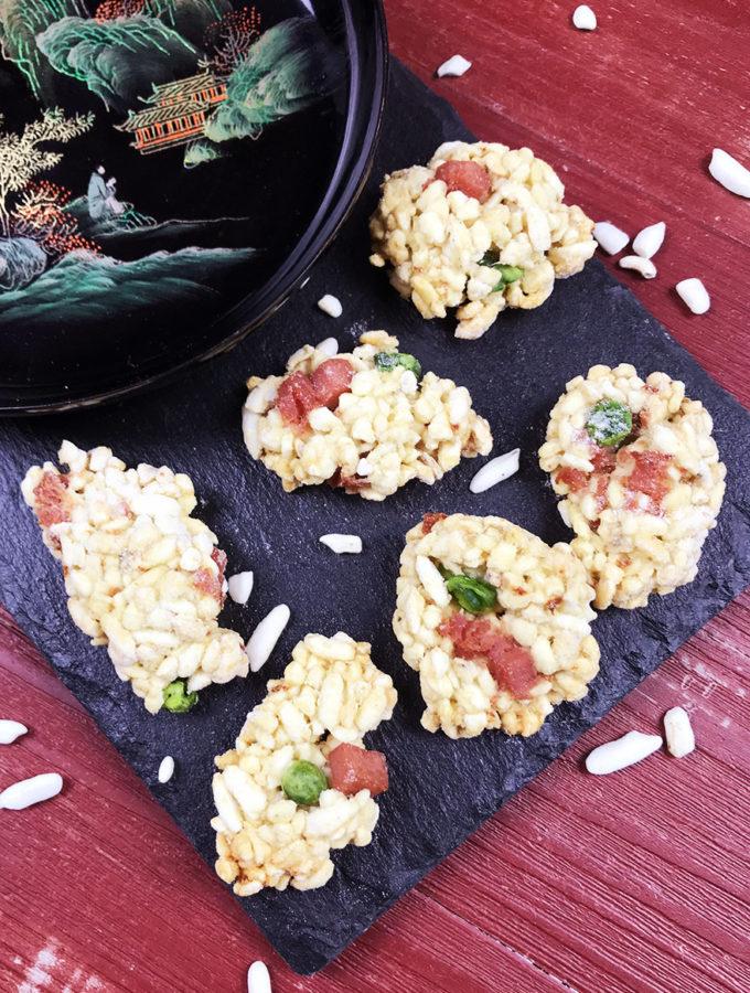 Barrette di riso soffiato