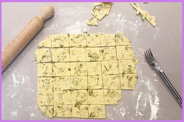 cracker di verdure per cani